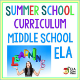 Summer School Curriculum ELA Grades 6-8
