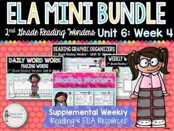 ELA Mini Bundle 2nd Grade Unit 6: Week 4