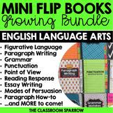 ELA Mini Flip Book BUNDLE (Grammar, Punctuation, Point of