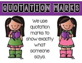 ELA Mini Lesson - Quotation Marks