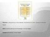 ELA Module 1 Unit 1 Lesson 3 UDHR