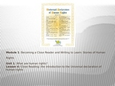 ELA Module 1 Unit 1 Lesson 4 UDHR