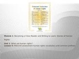 ELA Module 1 Unit 1 Lesson 5 UDHR