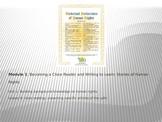 ELA Module 1 Unit 1 Lesson 6 UDHR