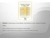 ELA Module 1 Unit 1 Lesson 7 UDHR