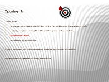ELA Module 1 Unit 2 Lesson 11 Esperanza Rising