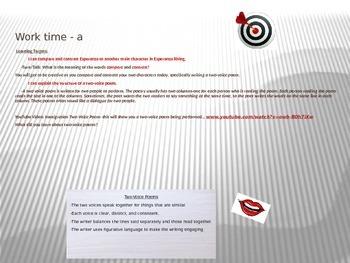 ELA Module 1 Unit 2 Lesson 13 Esperanza Rising