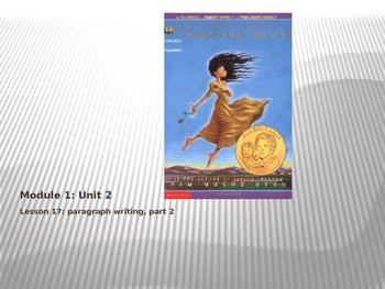 ELA Module 1 Unit 2 Lesson 17 Esperanza Rising