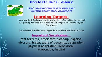 ELA Module 2A Unit 2 Lesson 2