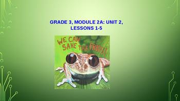 ELA Module 2A Unit 2 Lessons 1-5