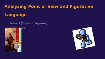 ELA Module 3 Unit 1 Ls 2 Analyzing Point of View & Figurative Lang. Dragonwings