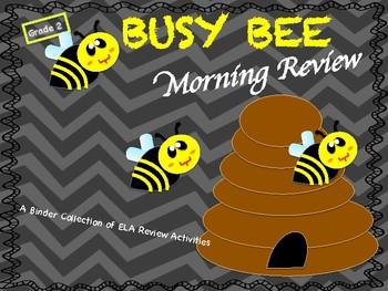 ELA Morning Review Binder