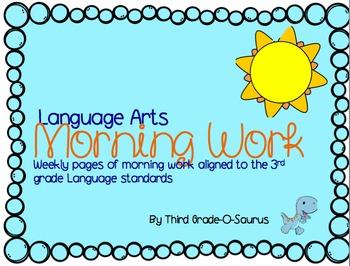 ELA Morning Work