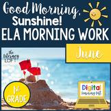 ELA Morning Work 1st Grade (June)   Distance Learning   Go