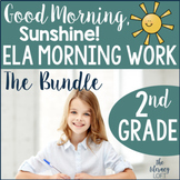 ELA Morning Work 2nd Grade {Growing Bundle}