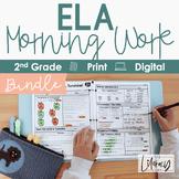 ELA Morning Work 2nd Grade I Distance Learning I Google Slides