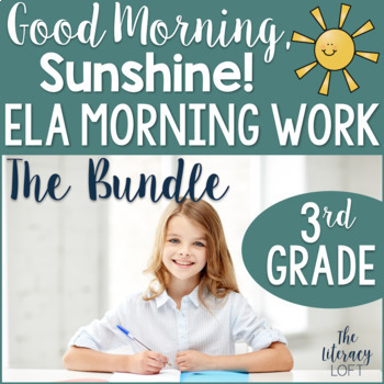 ELA Morning Work 3rd Grade {The Bundle}