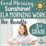 ELA Morning Work 3rd Grade {Growing Bundle}