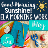 ELA Morning Work 3rd Grade {May}