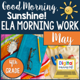 ELA Morning Work 4th Grade {May}
