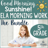 5th Grade Morning Work ELA {The Bundle}