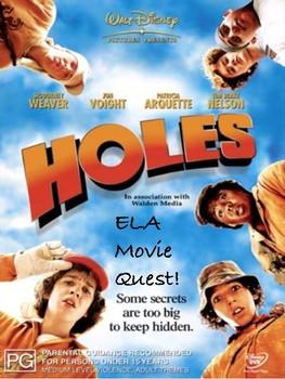 ELA Movie Quest: Holes