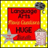 Language Arts Movie Questions HUGE Bundle!
