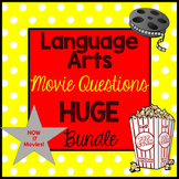 Language Arts Movie Questions HUGE Bundle! End of the Year