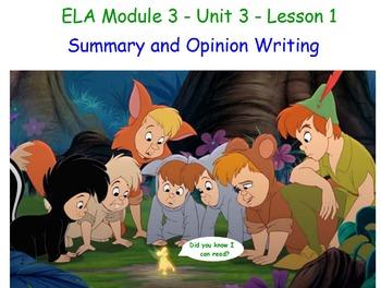 ELA NYS Common Core Module 3 UNIT 3 Materials
