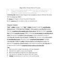 ELA New York State Regents Writing Templates, Handouts, Practice