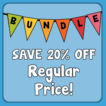 ELA Review No-Prep Bundle, grammar and vocabulary Distance Learning Packets