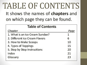 ELA Non Fiction Text Features - for ELLs, SPED (pictures included)
