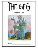 ELA Novel Unit- The BFG By Roald Dahl