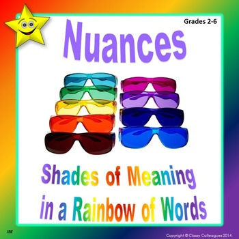 Nuances Word Cards