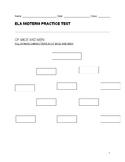 ELA- Of Mice and Men, MLA format, Grammar, and Edgar Allen