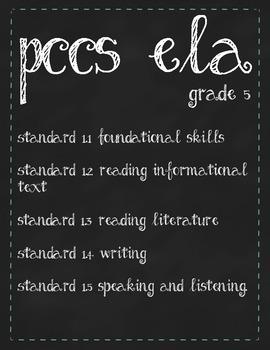 ELA PA Common Core Grade 5
