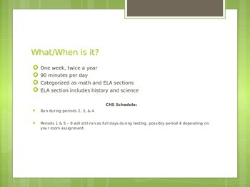 ELA PARCC Introductory Slides