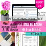 ELA PARCC Practice Scavenger Hunt, Grades 3-5