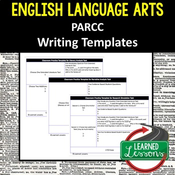 ELA PARCC WRITING FORMAT TEMPLATE