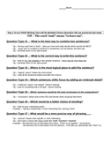 ELA PASS Test Prep - Question Types