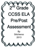 2nd Grade CCSS ELA PRE-POST ASSESSMENT