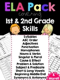 ELA  First & Second Grade Skills Worksheets