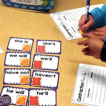 2nd Grade Language Arts Pair Ups (ELA Match-Ups)