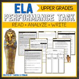 ELA Performance Task - Ancient Egypt