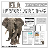 ELA Performance Task - Endangered Animals