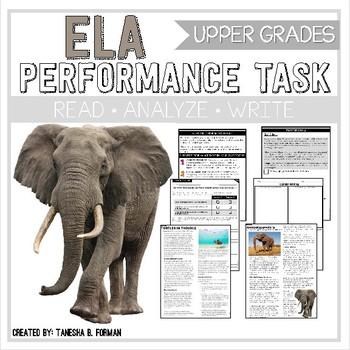 ELA Performance Task - Endangered Animals