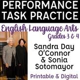ELA Performance Task Practice SBAC | Supreme Court Justice