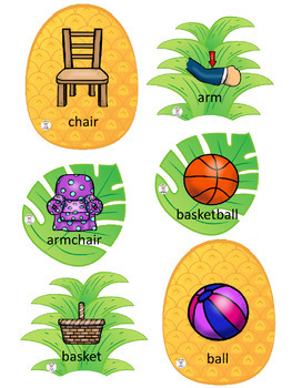 Compound Words - Pineapple Compounds