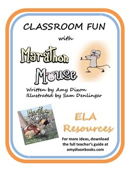 ELA Picture Book Resources MARATHON MOUSE