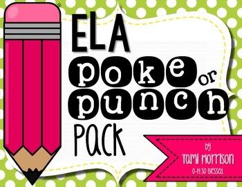 ELA Poke Pack! {7 games!}
